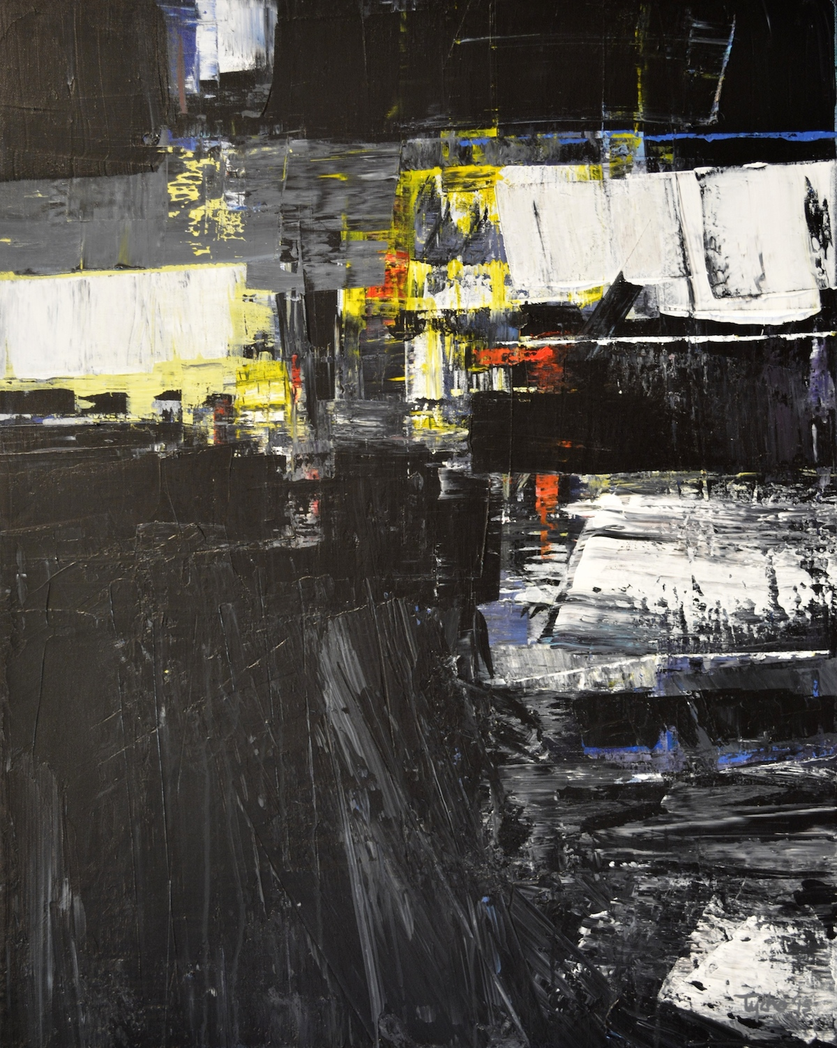 DTY-001,Urban Allegory #1, 24 x 30, 2015,$2200