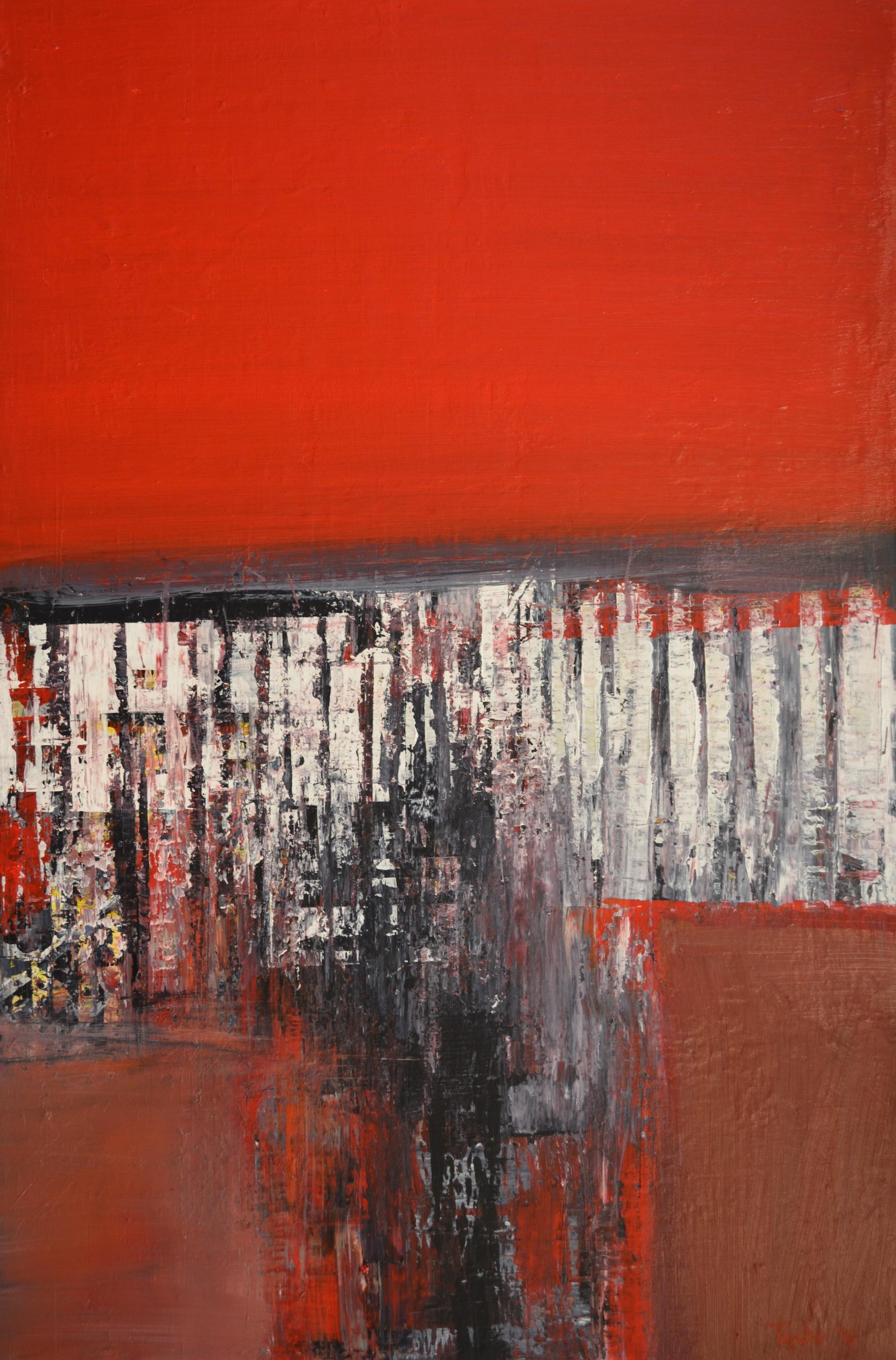 DTY-006, Urban Allegory #2,36 x 24 in,2015 , $2600