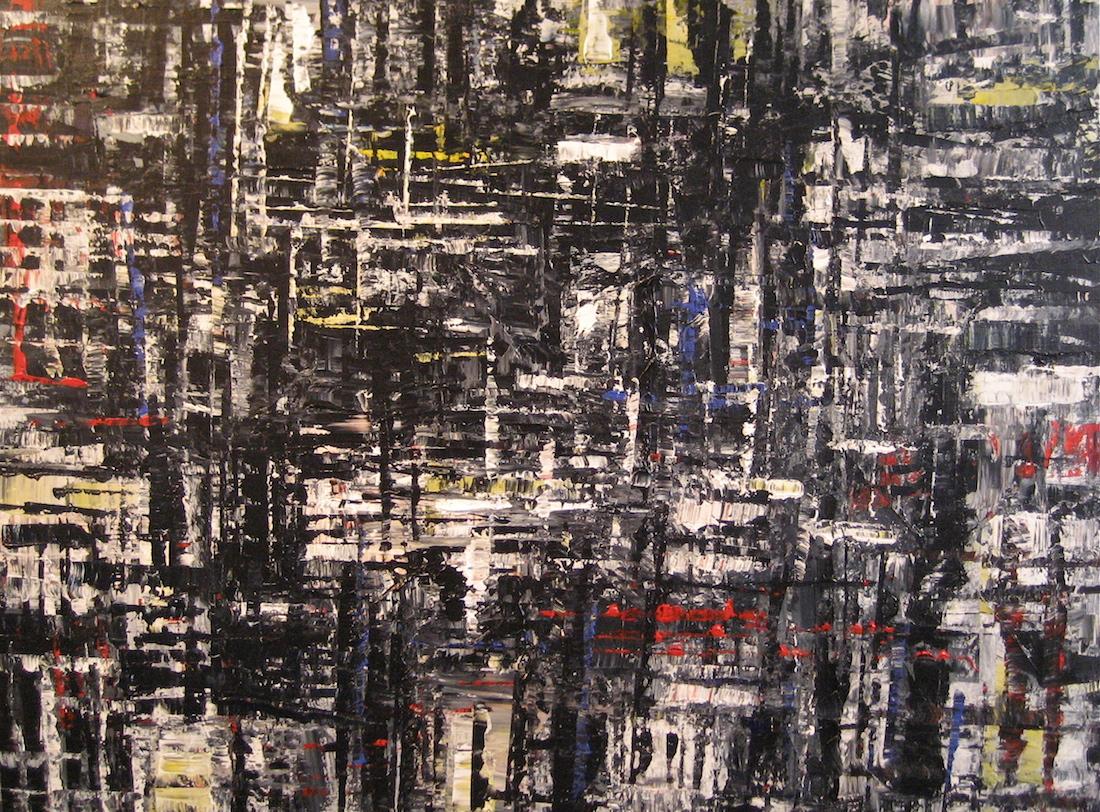 DTY-004,Urban Rhythms #5,40 x 30,2013, $3800