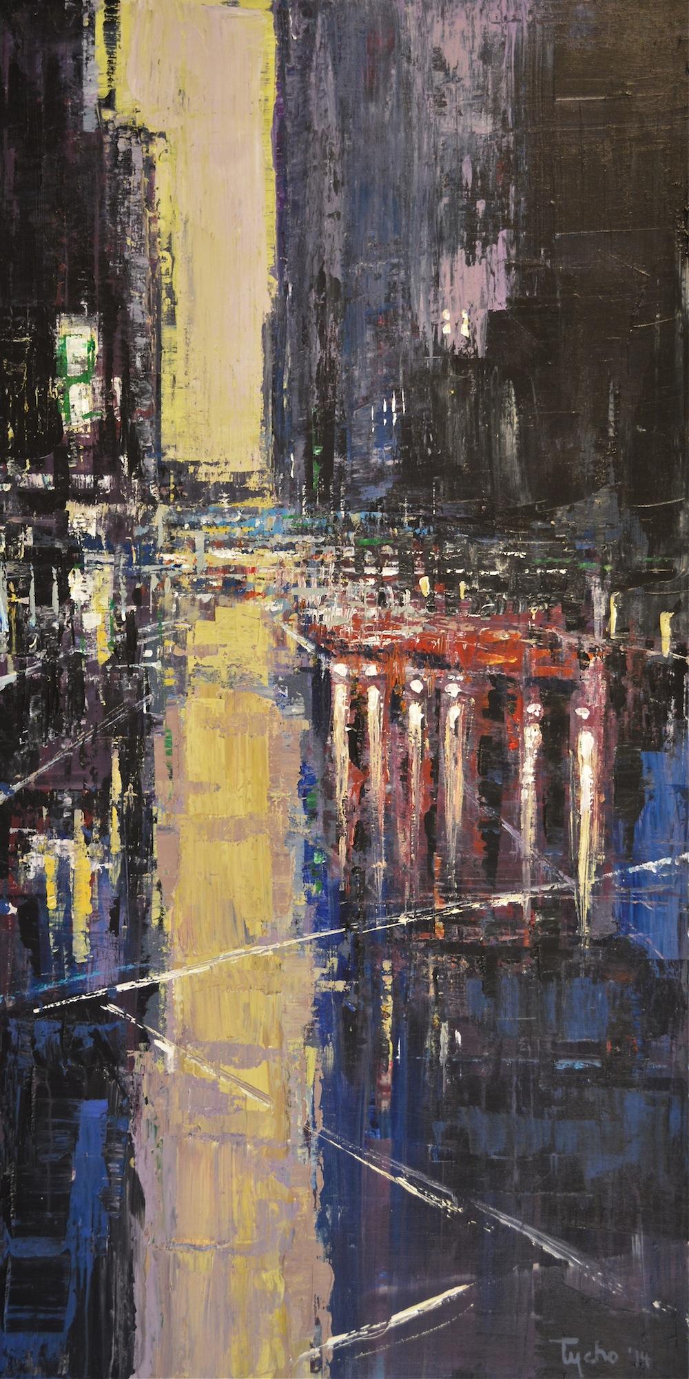 DTY-005, Urban Rhapsody #11, 48 x 24,2014, $3,600