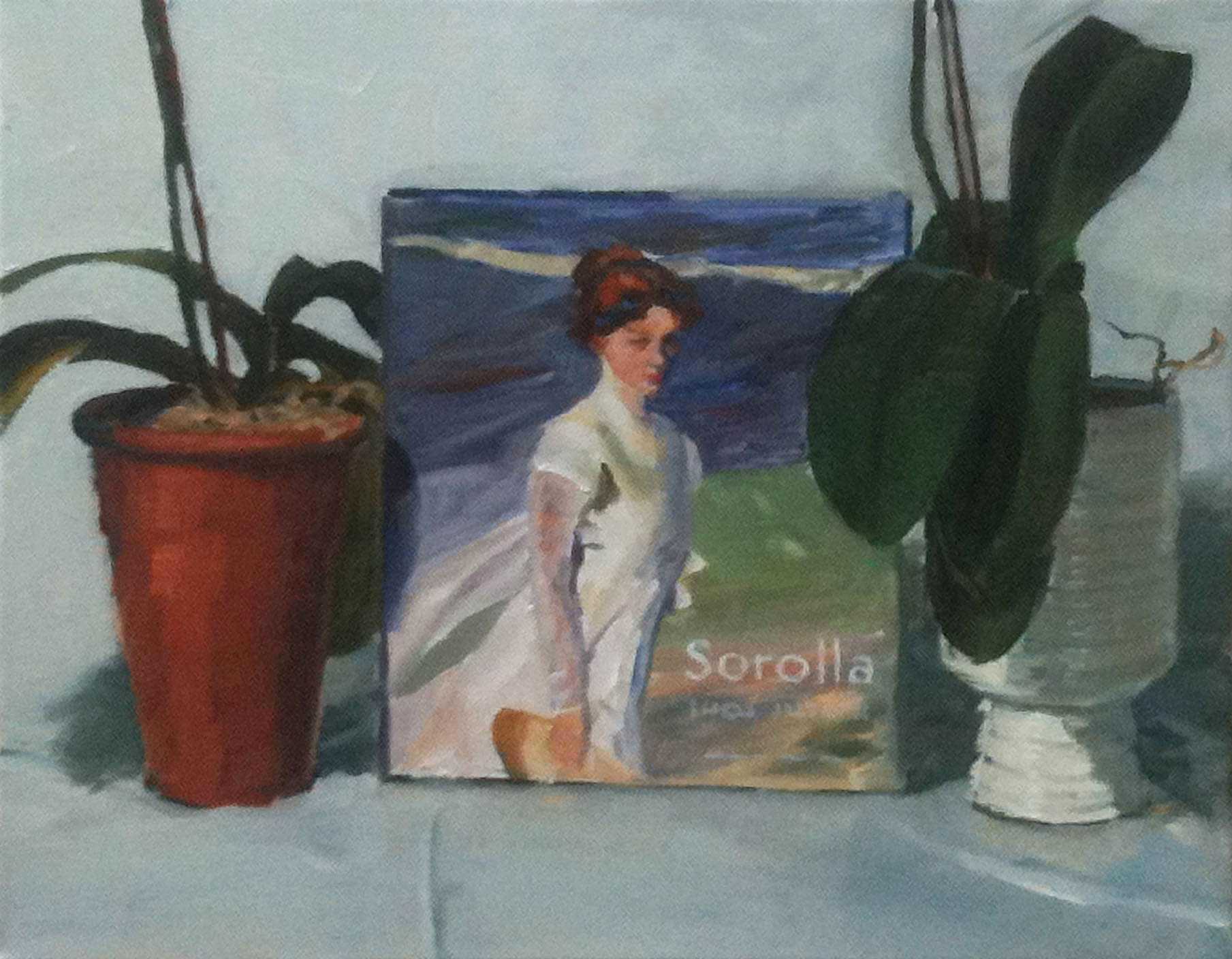 RS-183, Sorolla copy, oil on canvas, 2015, 18x14, $950