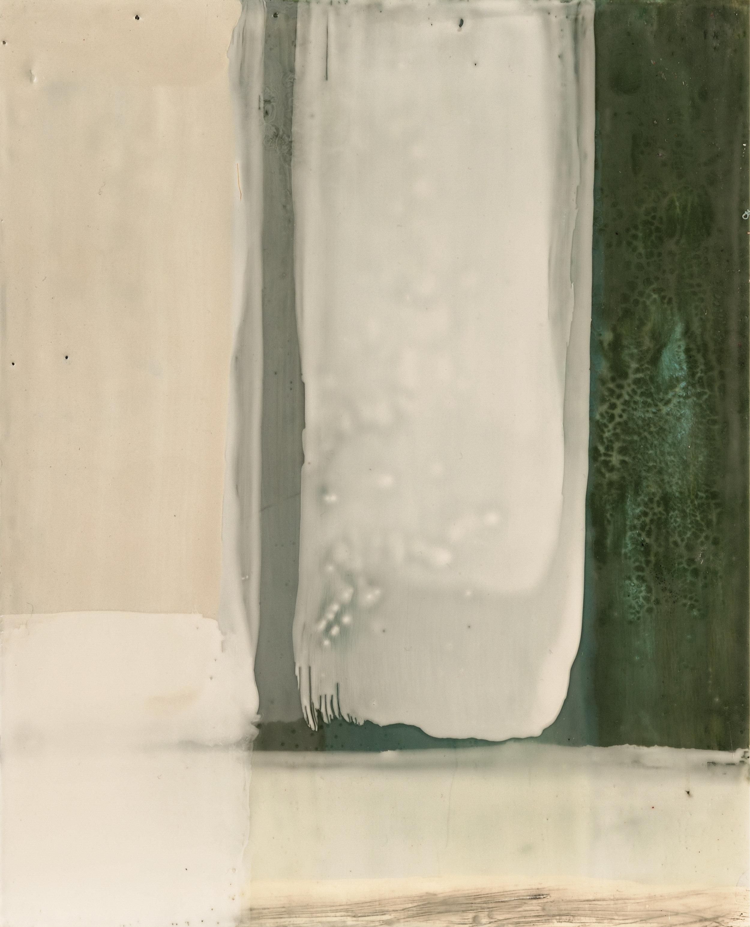 Untitled 1, Encaustic on Birch Panel, 8x10, 2016