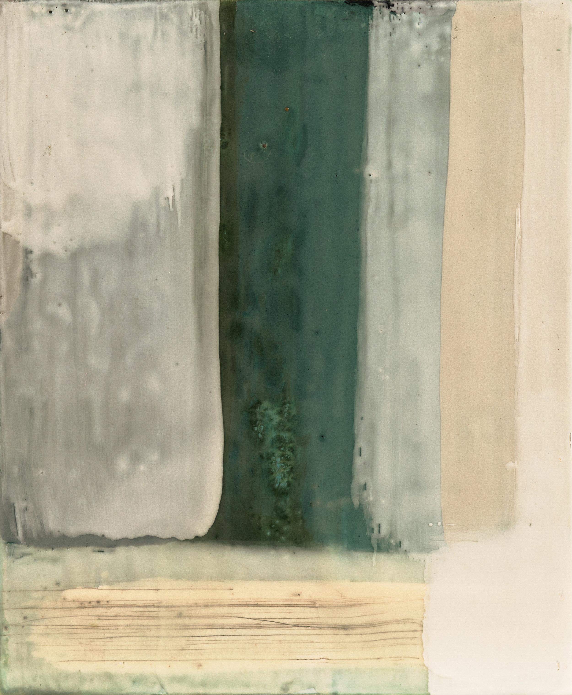Untitled 2, Encaustic on Birch Panel, 8x10, 2016