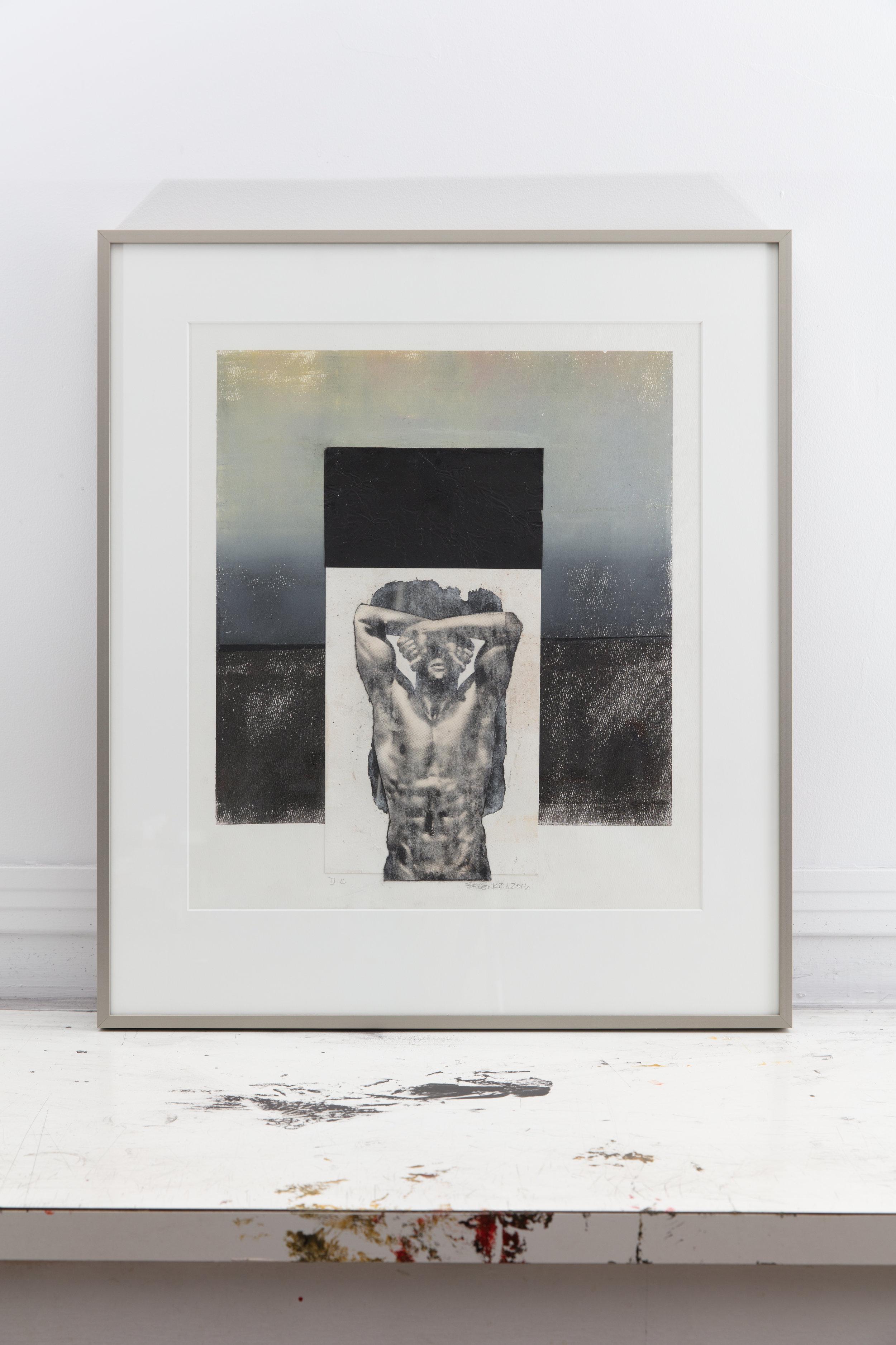 EB-044,C-II, Nude Series, Mixed Media on Paper, 2016, 23.5X27, 725.00.jpg
