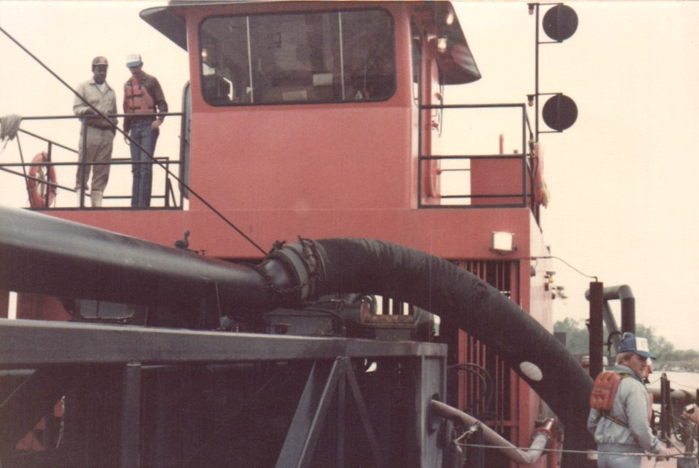 one of our first dredges