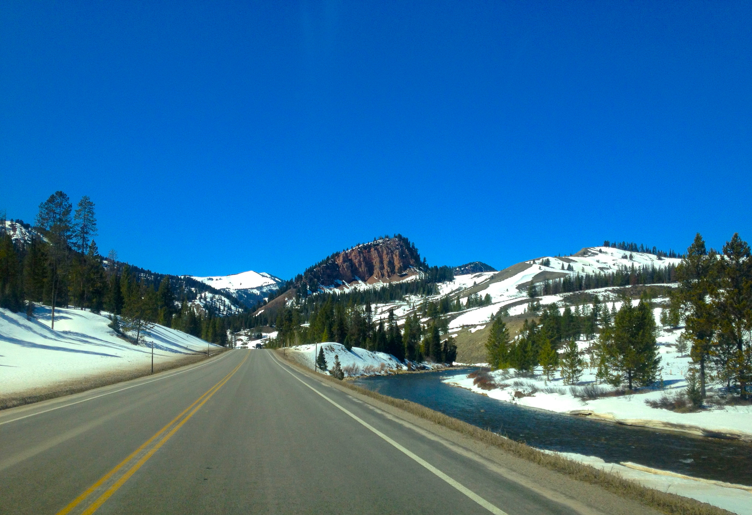 Hoback Canyon from the East