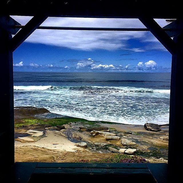 La Jolla framed