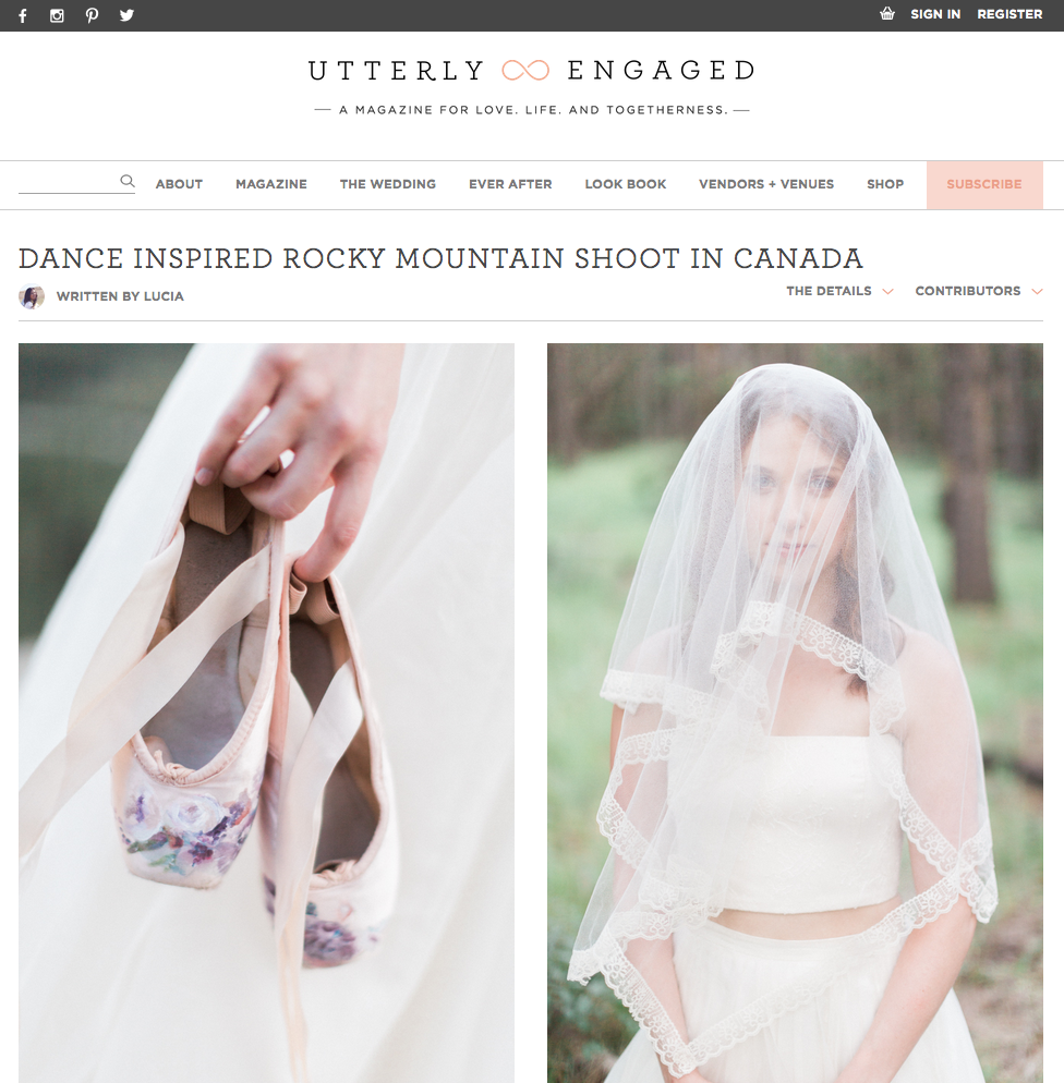 Photography -  Heidrich Photography  / Creative Director & Stylist -  Pink & Honey  / Hair & Make-up -  Simply Me  / Florals -  Rebecca Dawn Designs  / Calligraphy -  Art & Alexander  / Gowns -  Frocks Modern Bride & Bridesmaid