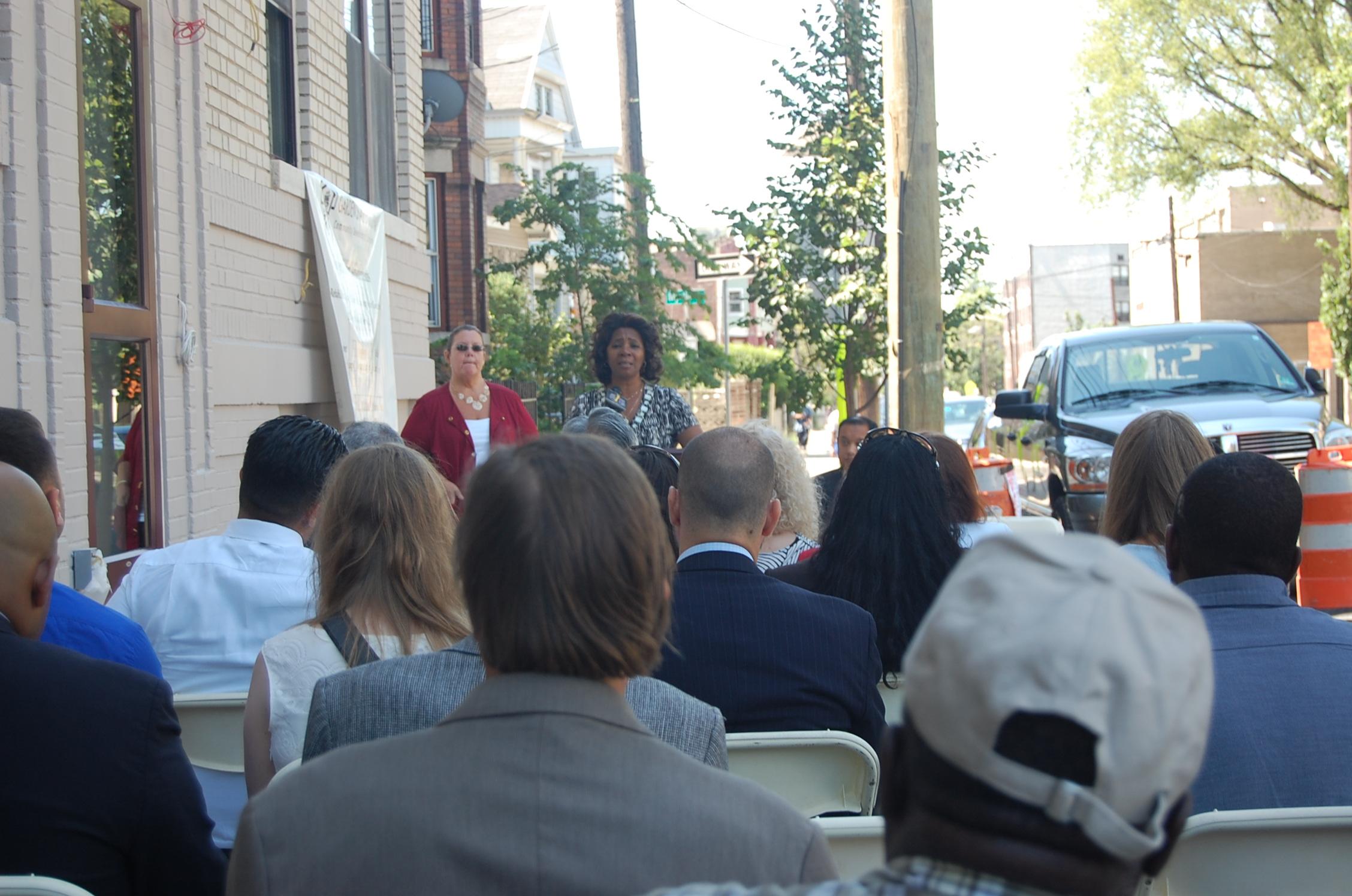 Ward F Councilwoman Coleman speaking