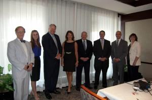 From Left; Dean Stephen Hopson, Ellen Hembree, Tom DeWitt, Lisa Spoden, Jim Zumwalt, Matt Sheldon, Scott Phillips, and Beth Miller-Herholtz