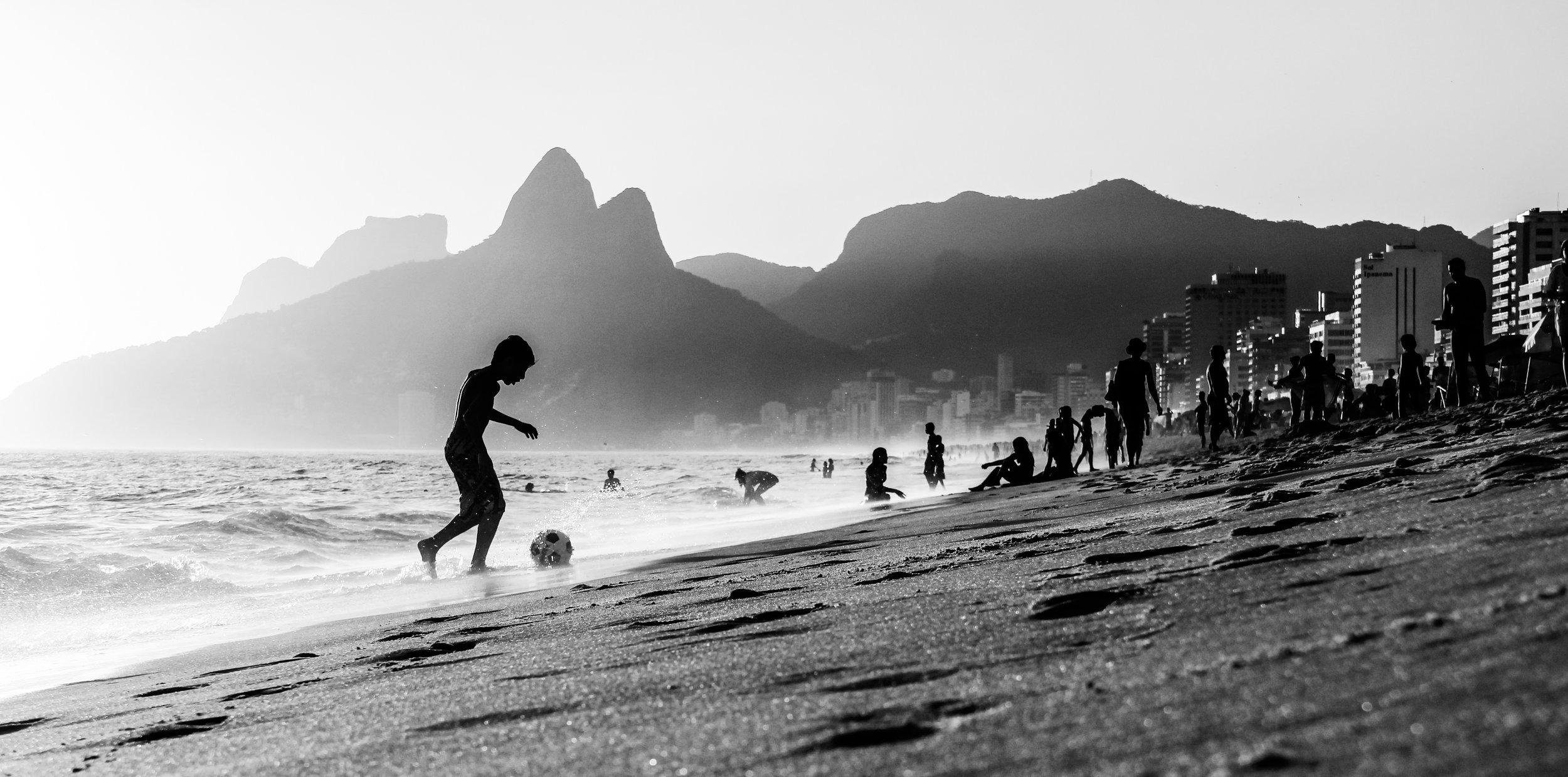 Saída de bola. Rio de Janeiro - RJ.