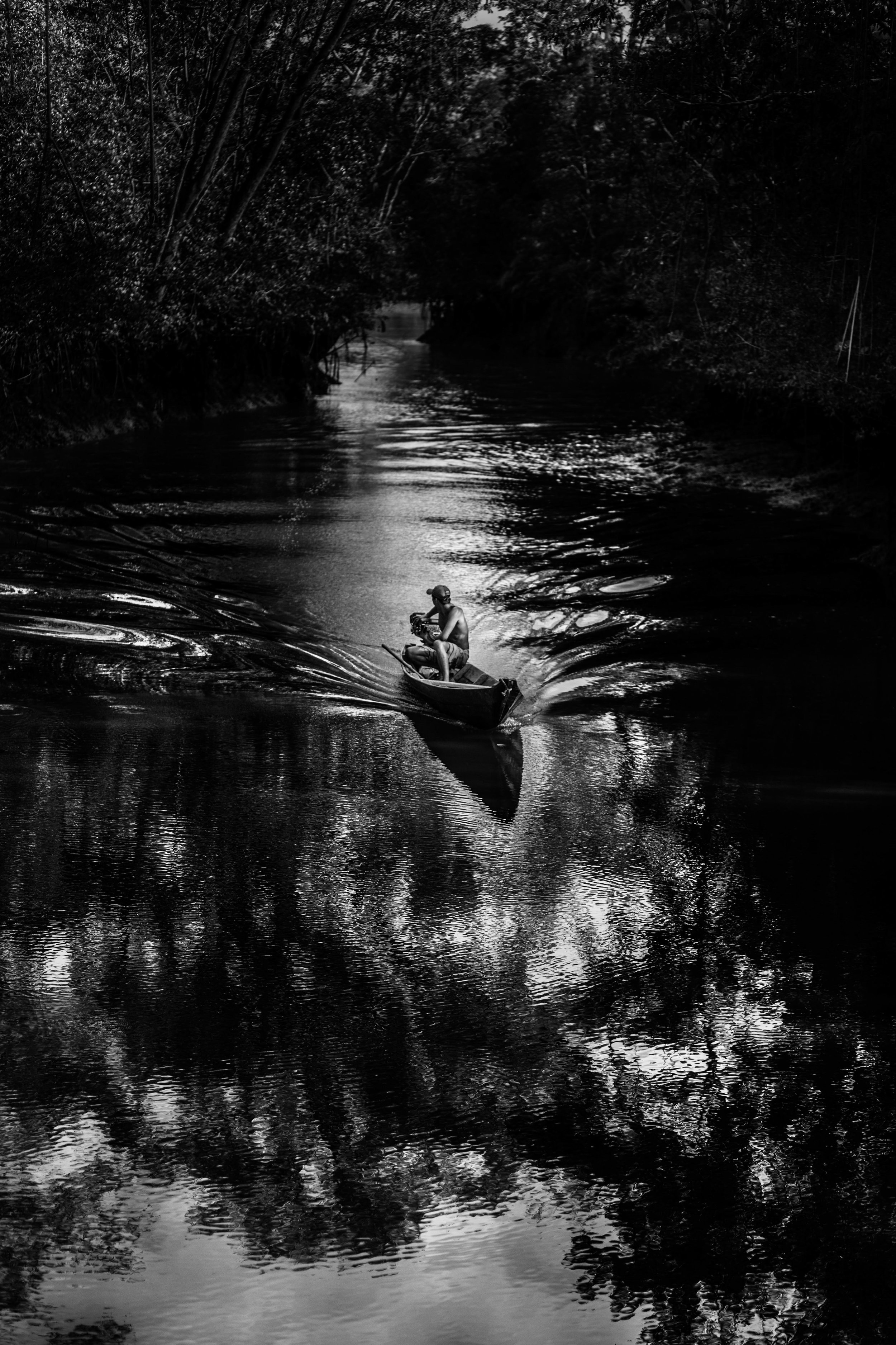 O barqueiro. Belém - PA.