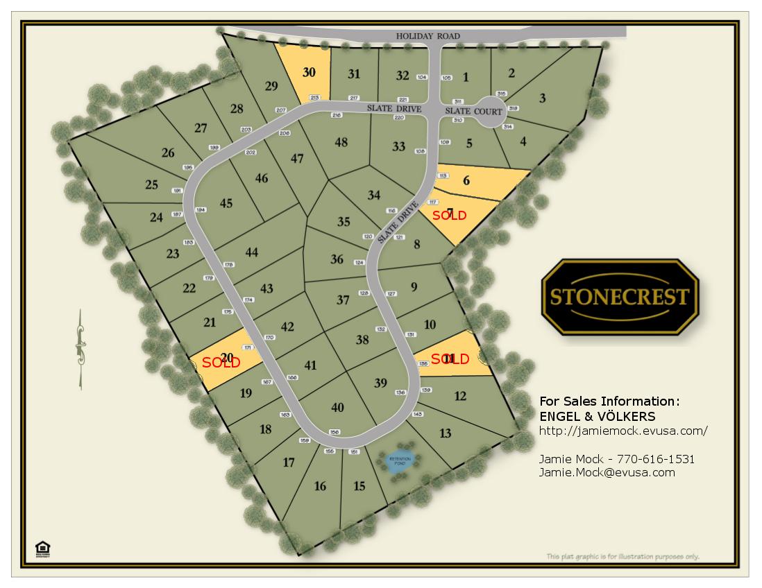 Stonecrest site plane
