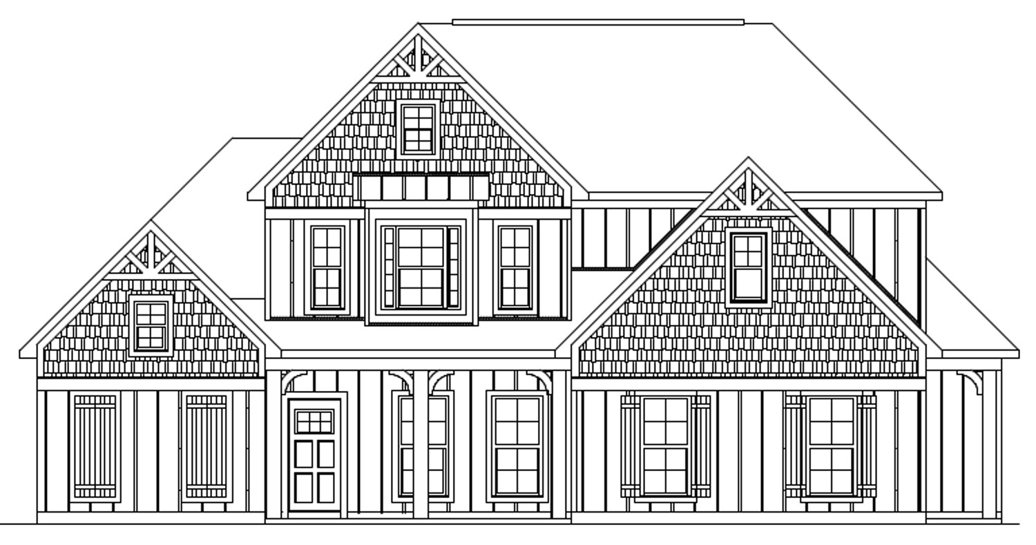 The Harrison front elevation