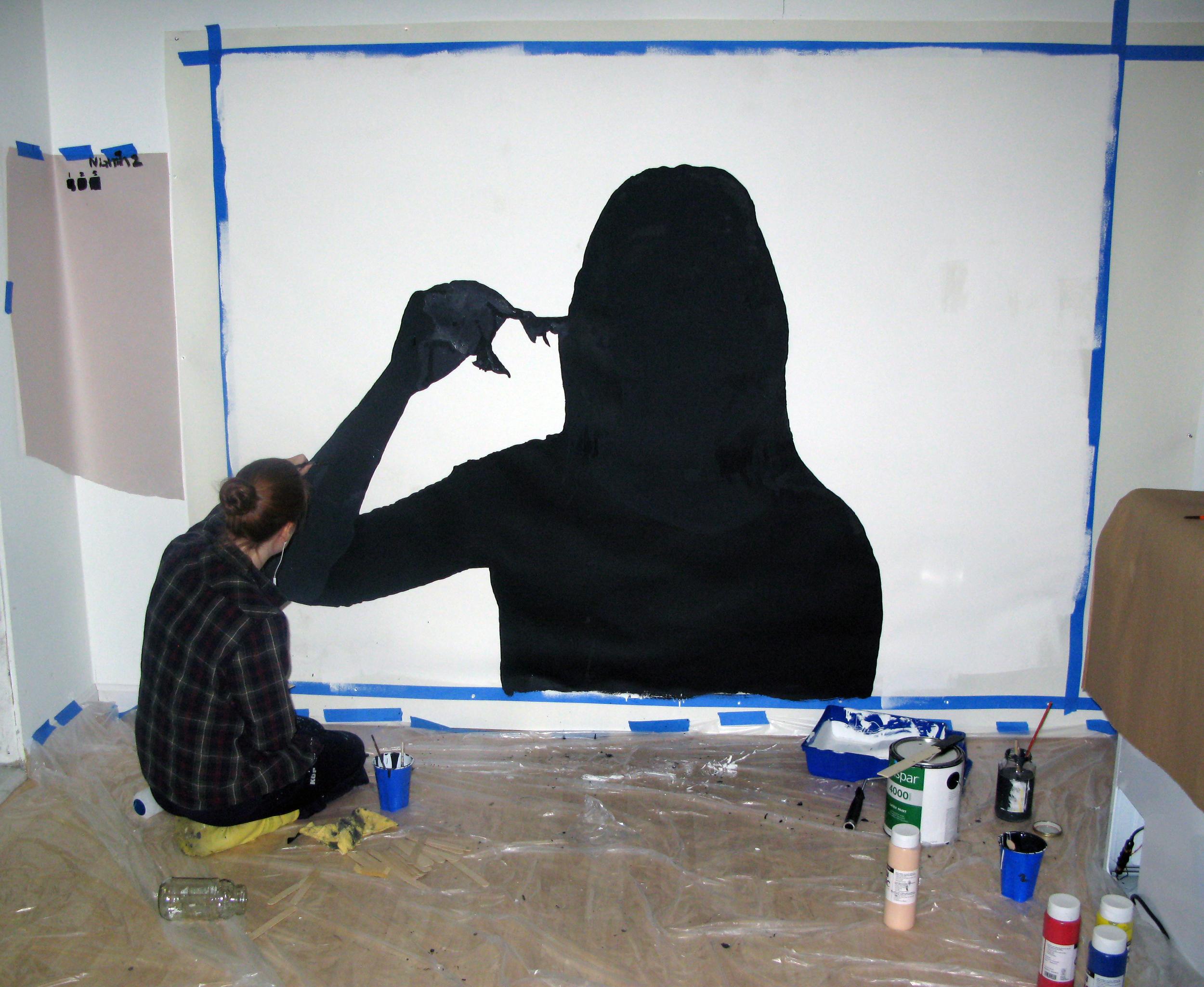 Finally got yo start the next big painting.