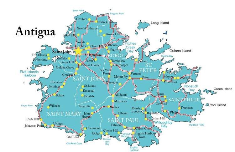 Antigua- The Land of 365 Beaches