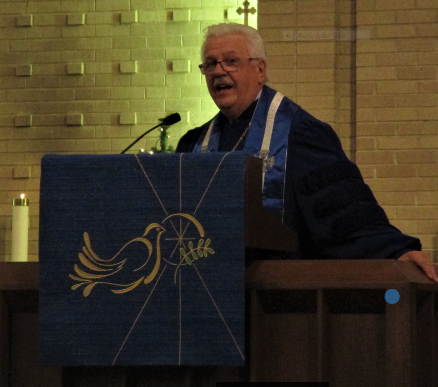 Rev. Dr. Robert Perry, retired senior minister