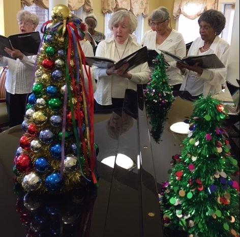 women's chorus at grace house
