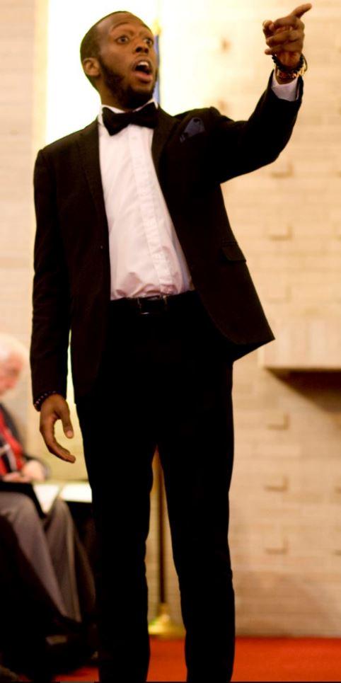 Christian Simmons, soloist