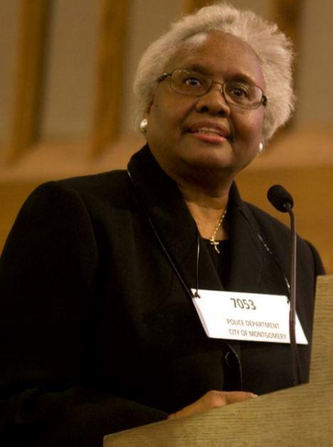 Rosa Parks portrayed by Rev. suzette haynes