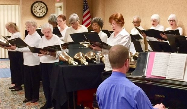 women's chorus at bedford court