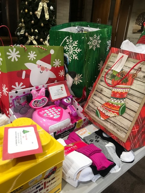 socks and toys for crossway community, coordinated by Outreach and fellowship committee