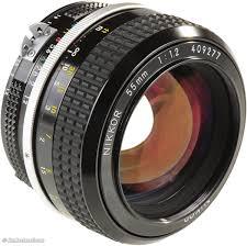 Nikon Ai Nikkor 55mm F1.2 F/1.2 Lens