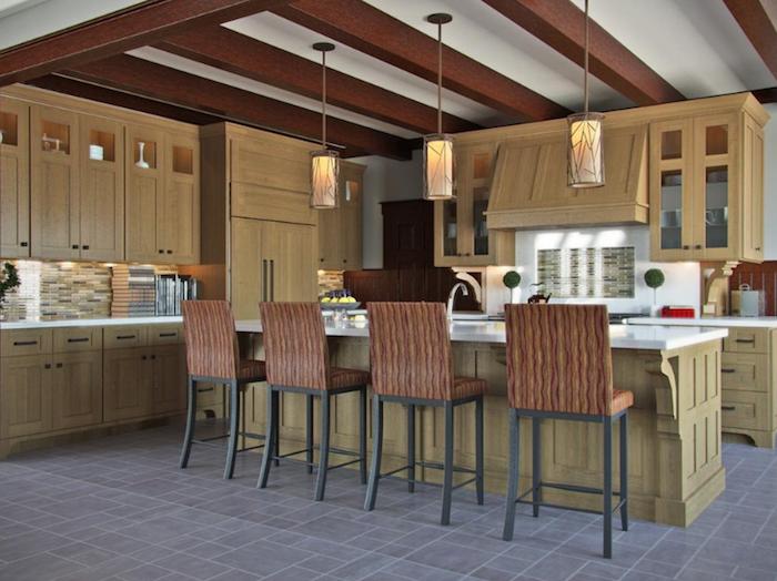 Transitional Kitchen Design. credit: Kitchens.com