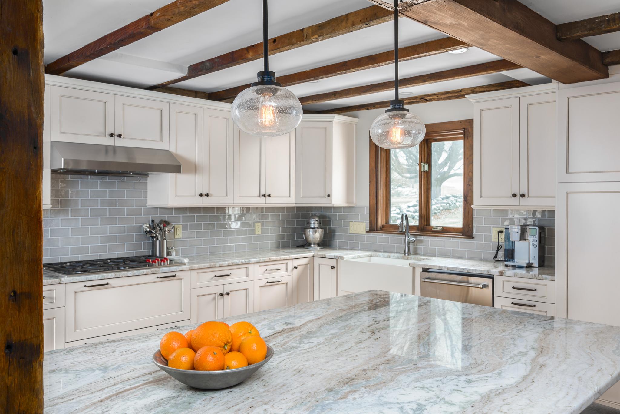 Sterling Ma Farmhouse Kitchen Kitchen Associates Massachusetts Kitchen Remodeling