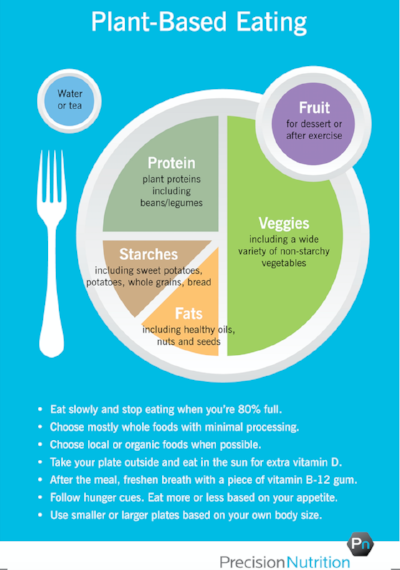 How to design your plant based meal plate for healthy fueling for performance.