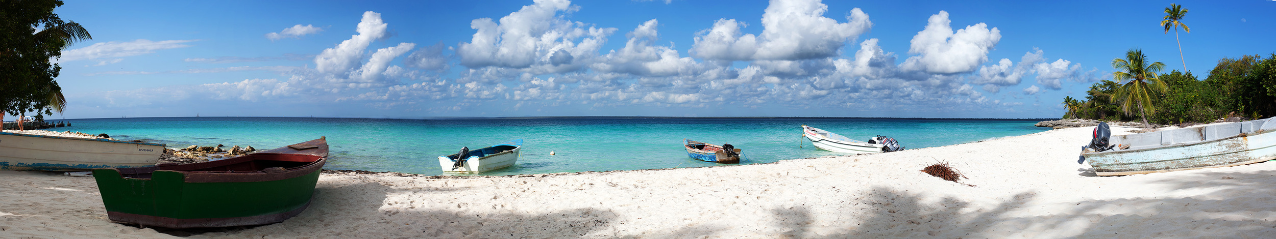 Beach Panorama | Saona Island, Dominican Republic