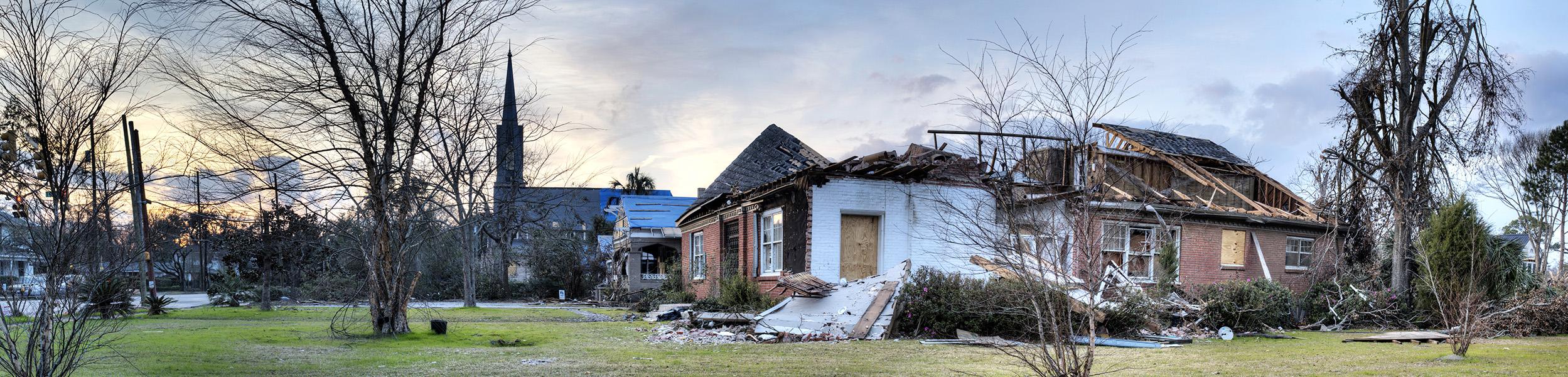2012 Christmas Twister Damage | Midtown Mobile, Alabama