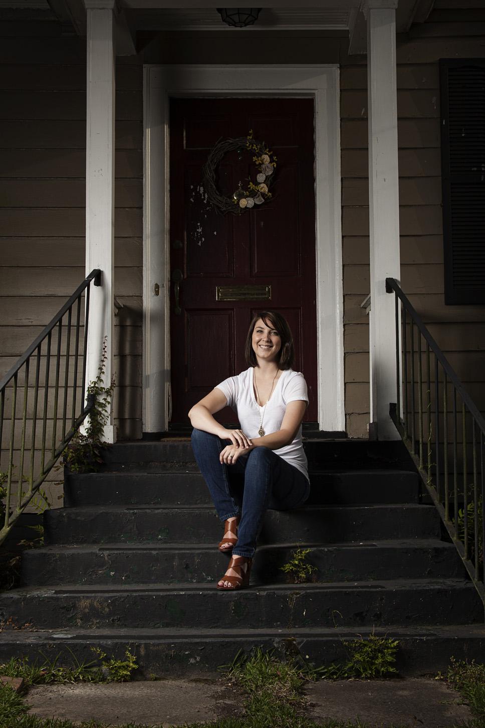 Ashley | Midtown Mobile Environmental Portrait