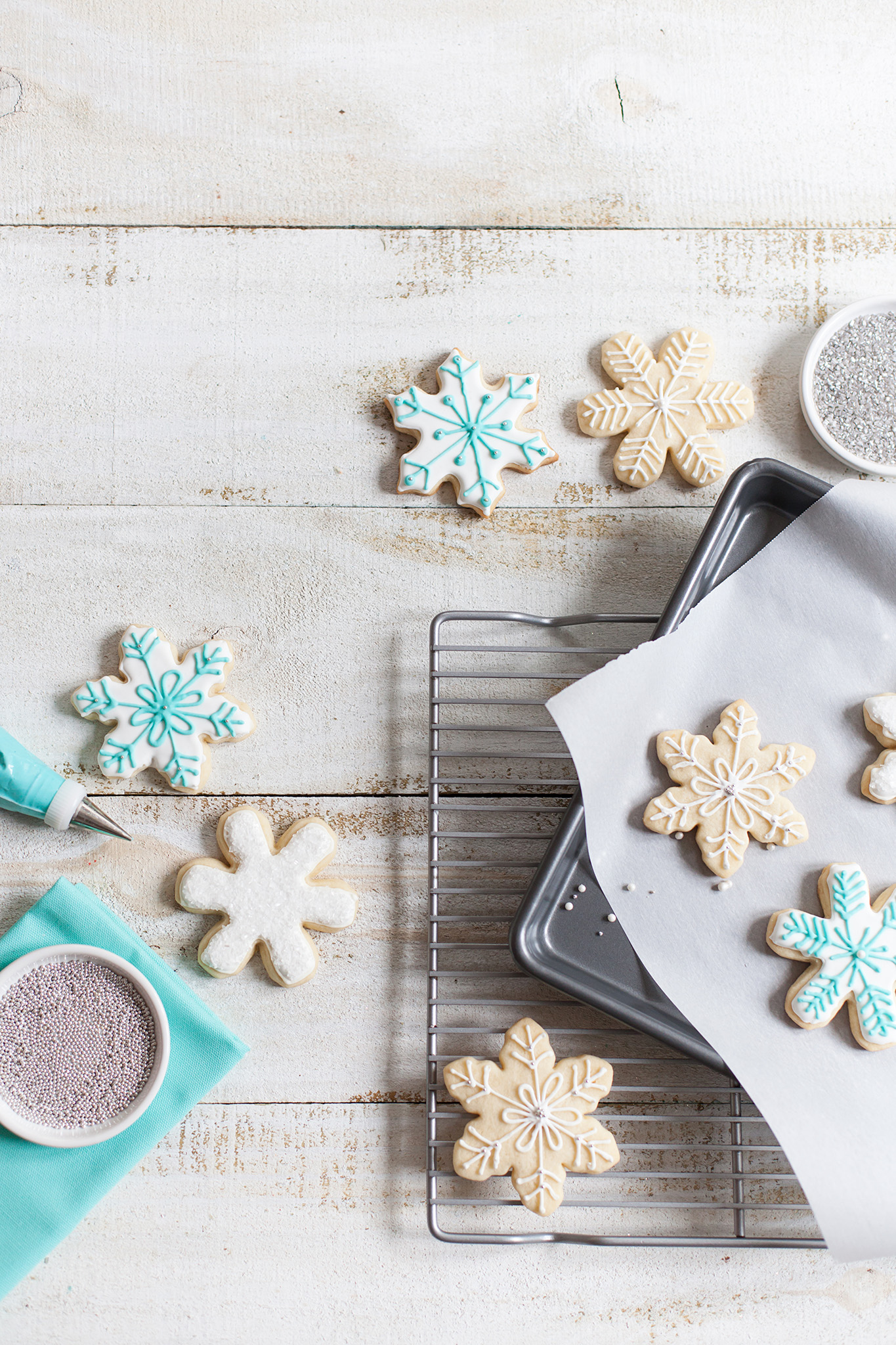 Snow Party Sugar Cookies