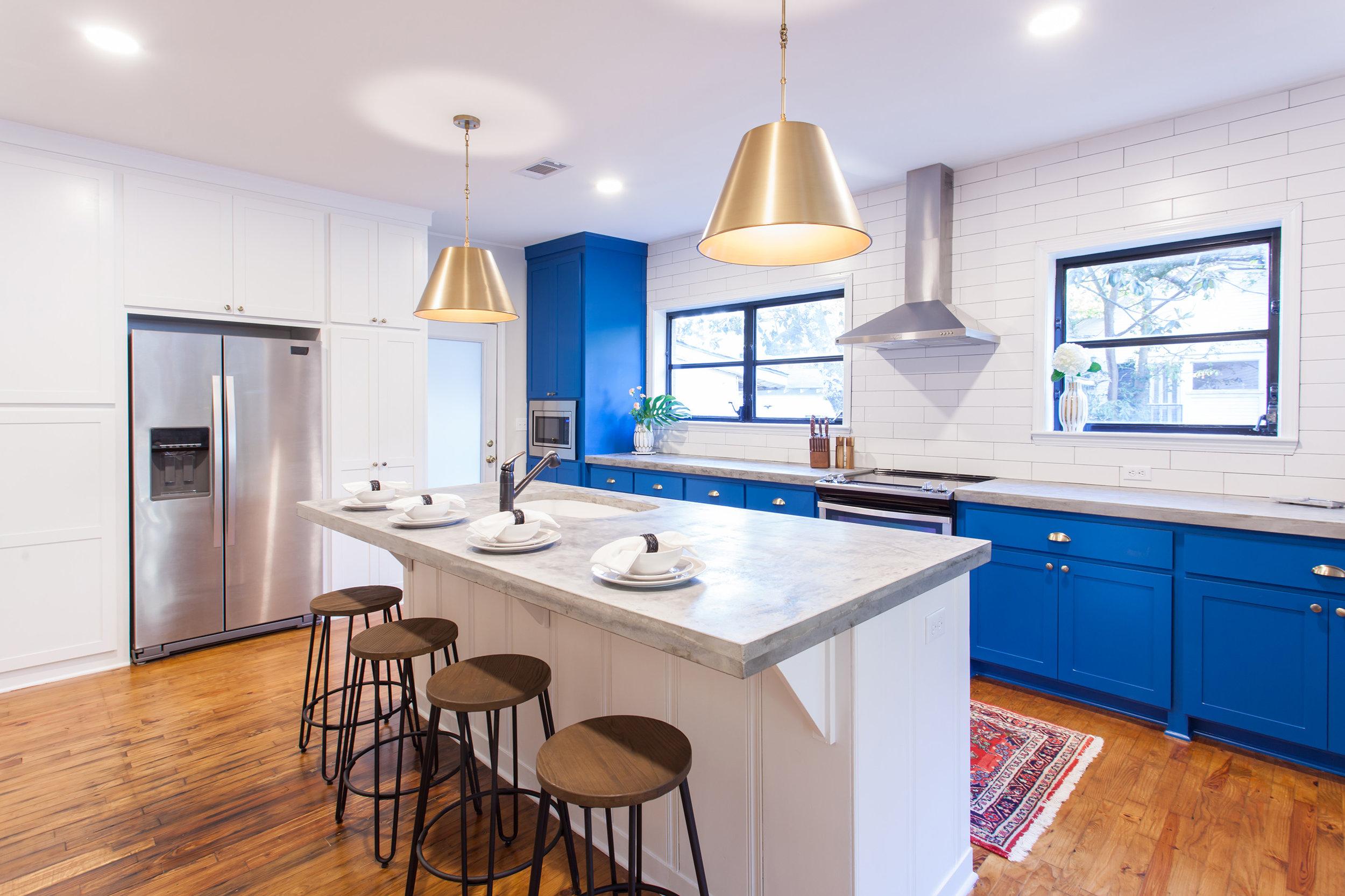Renovated Kitchen - Modern Design