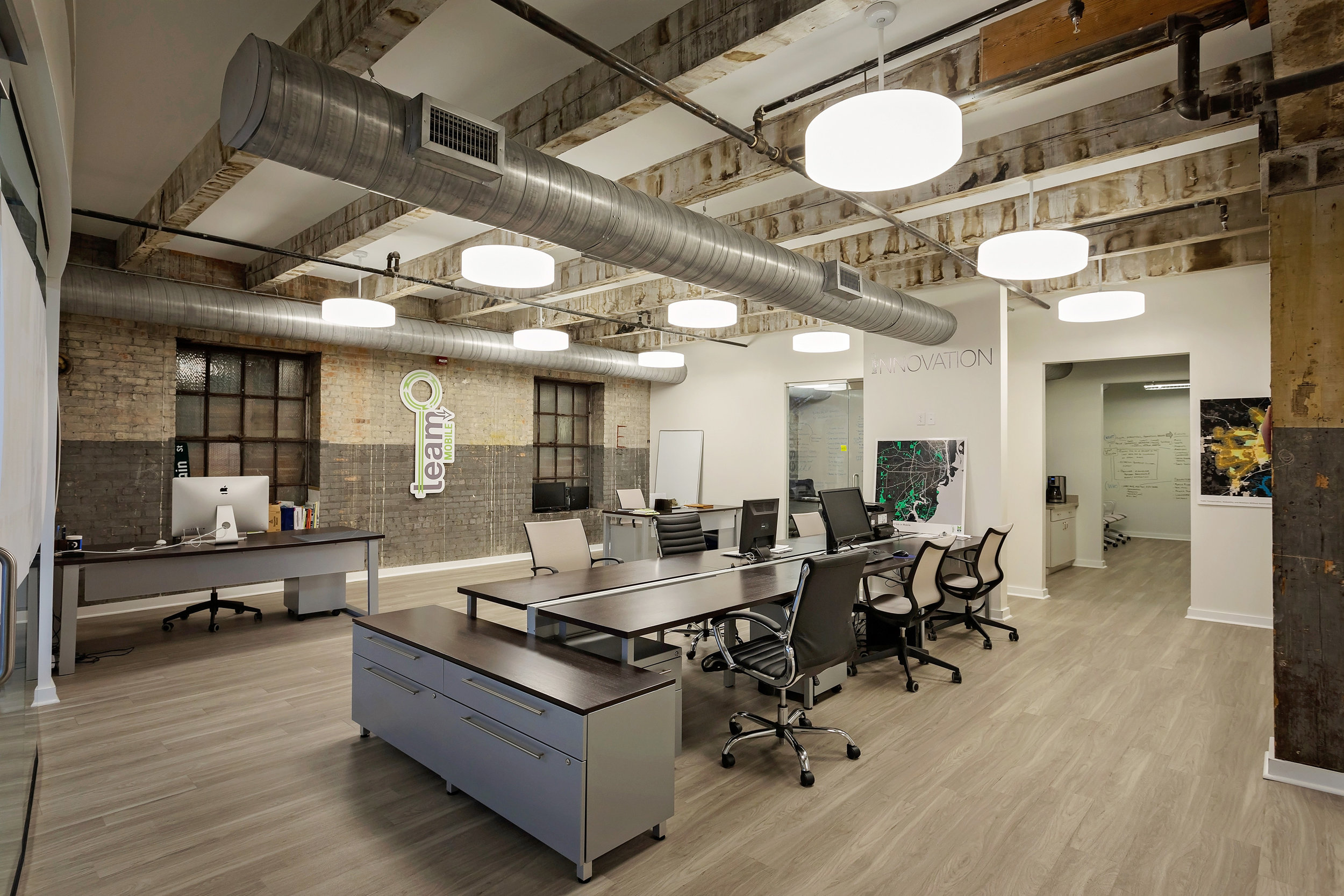 Modern Office Renovation - Mobile, Alabama