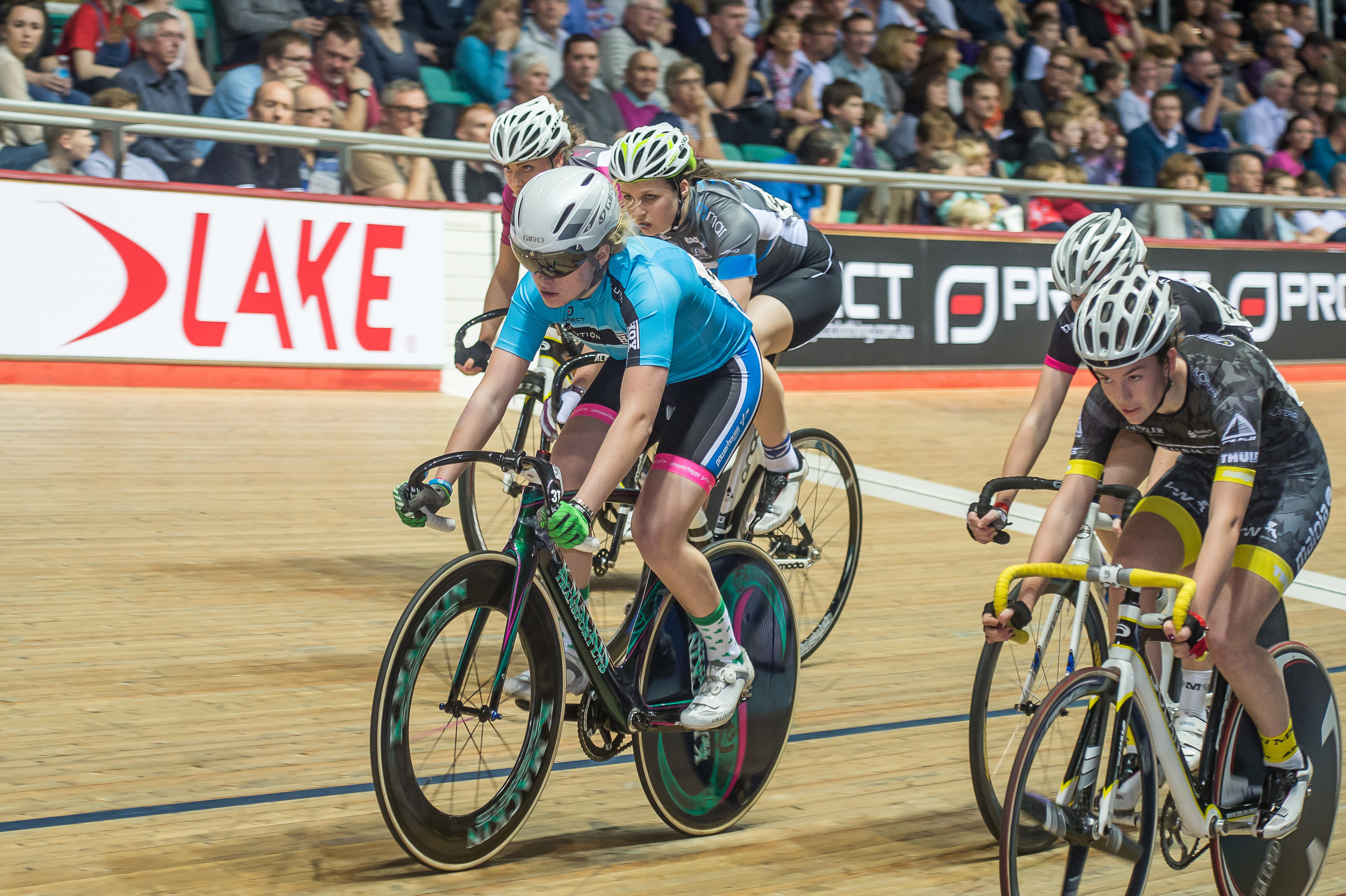 Performances in the colours of Team Sky grabbed the attention of GB coaches earning Shenna a monthly visit to Manchester Velodrome, worth it's weight in gold.