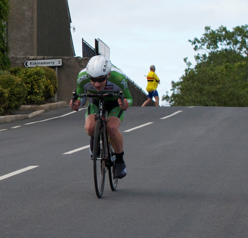 I think if I tried to come down the boiling well like that Paul would need a crow bar to get me off the bike at the finish!
