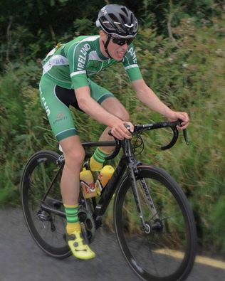 Cameron McIntyre bids for glory at the Junior Tour of Ireland (Photo courtesy of Stephen McMahon)