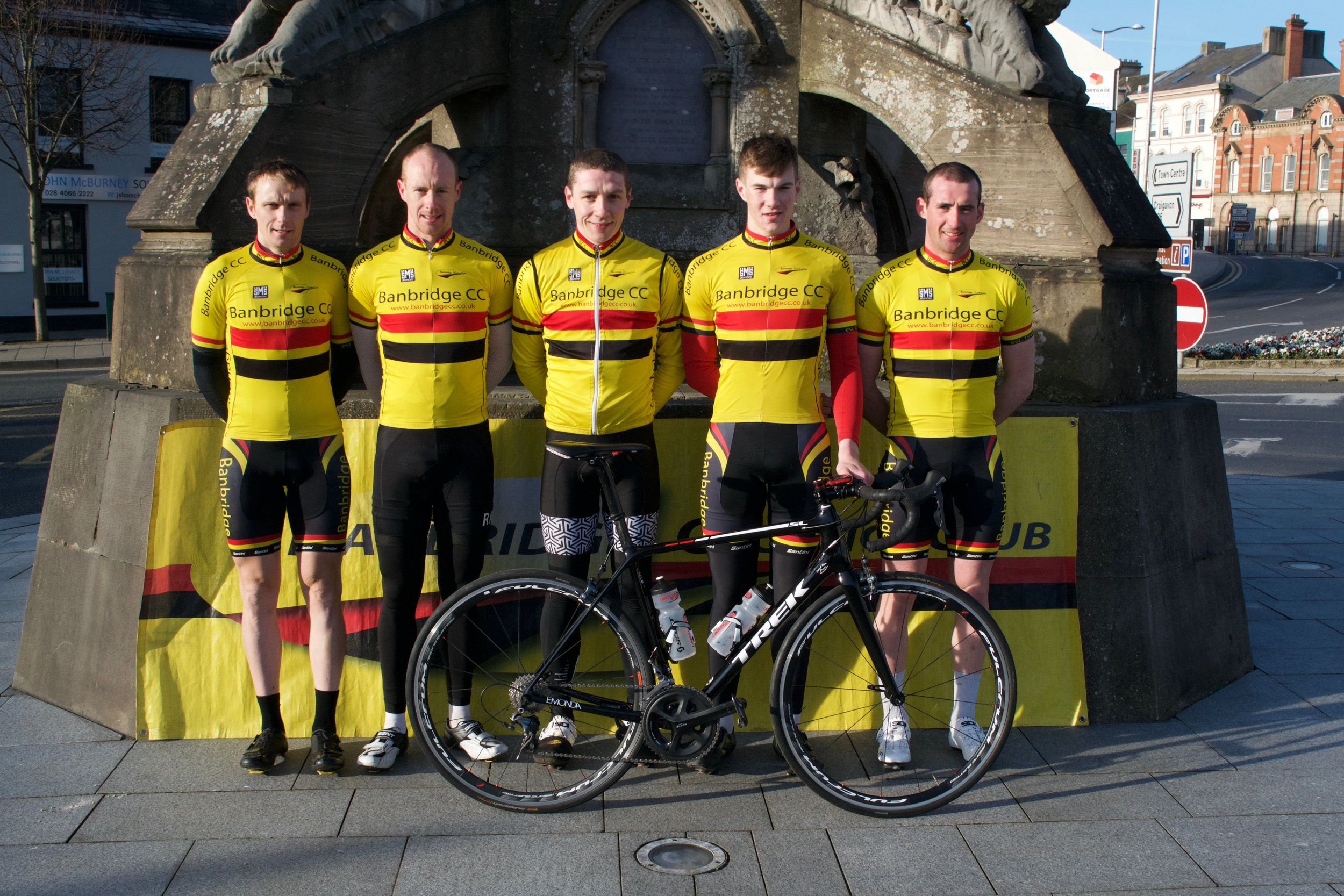 The 2017 Banbridge CC Tour of the North Team; (L-R) Gareth McKee, Roger Aiken, Sean Downey, John Buller & Matthew Adair.