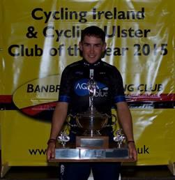 2016 Winner, Conor Hennebry of Aqua Blue Sport