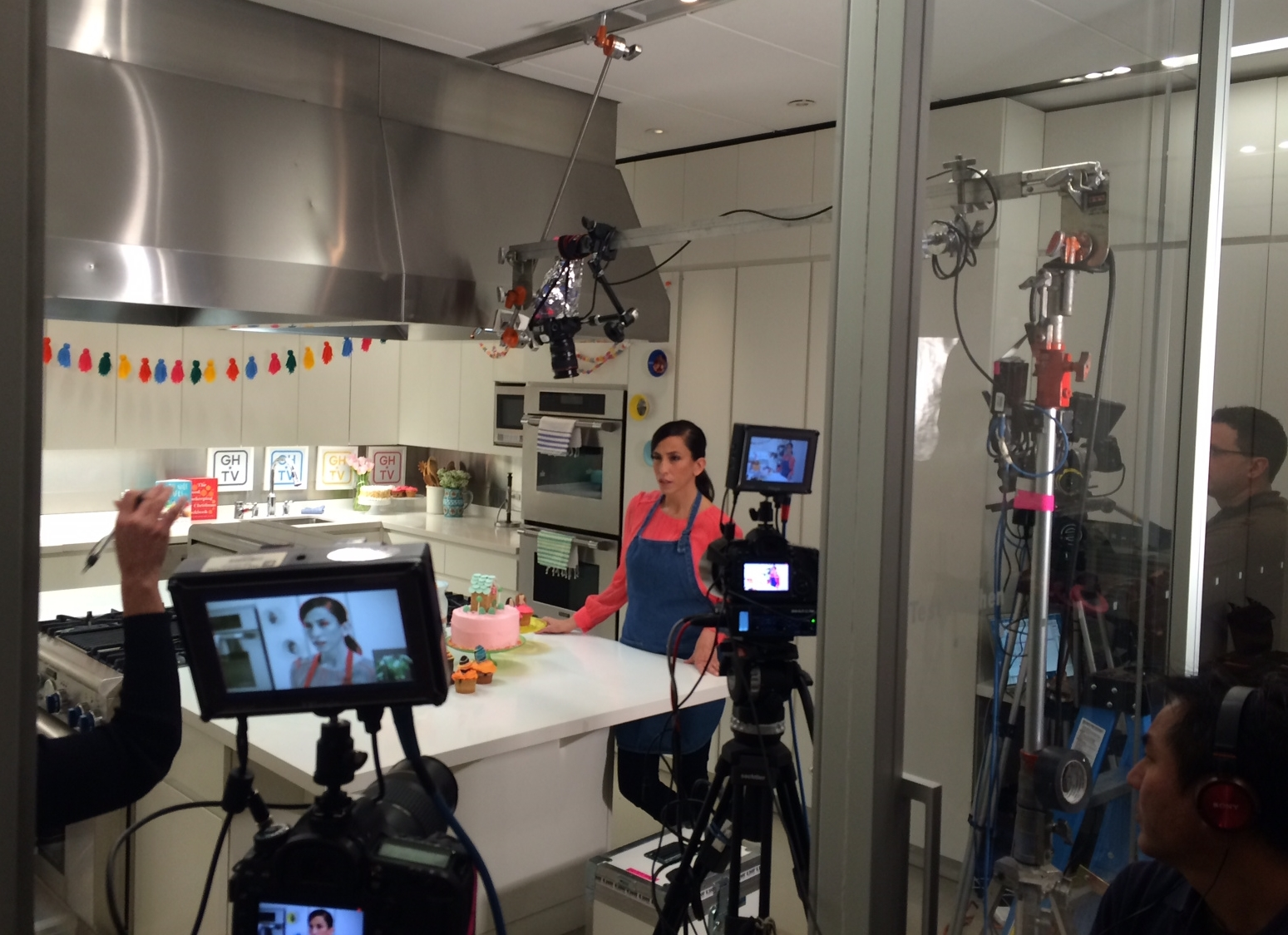 filiming-GHtv-supermakeit