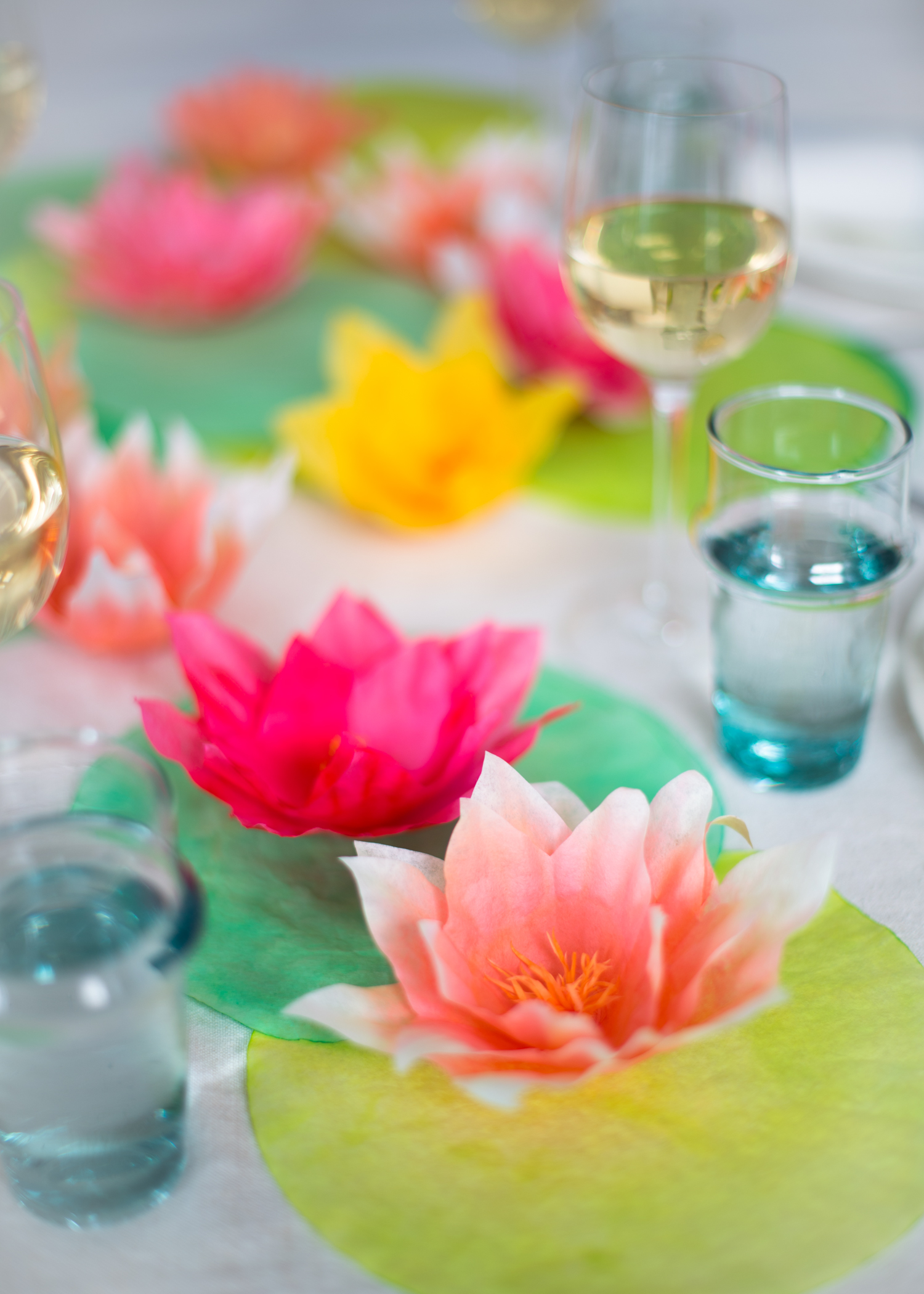 Coffee-Filter-Water-Lilies-Paper-Goods-Projects