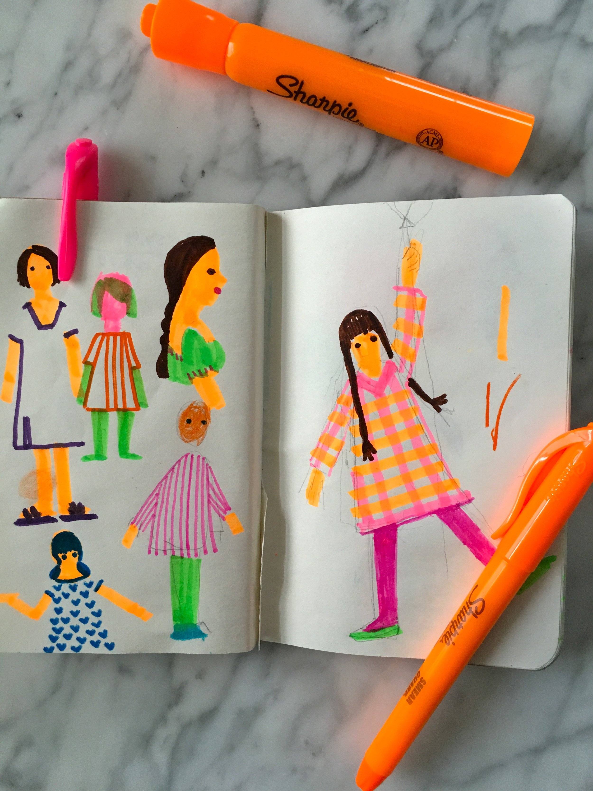Margaret-McCartney-Girls-Sketch
