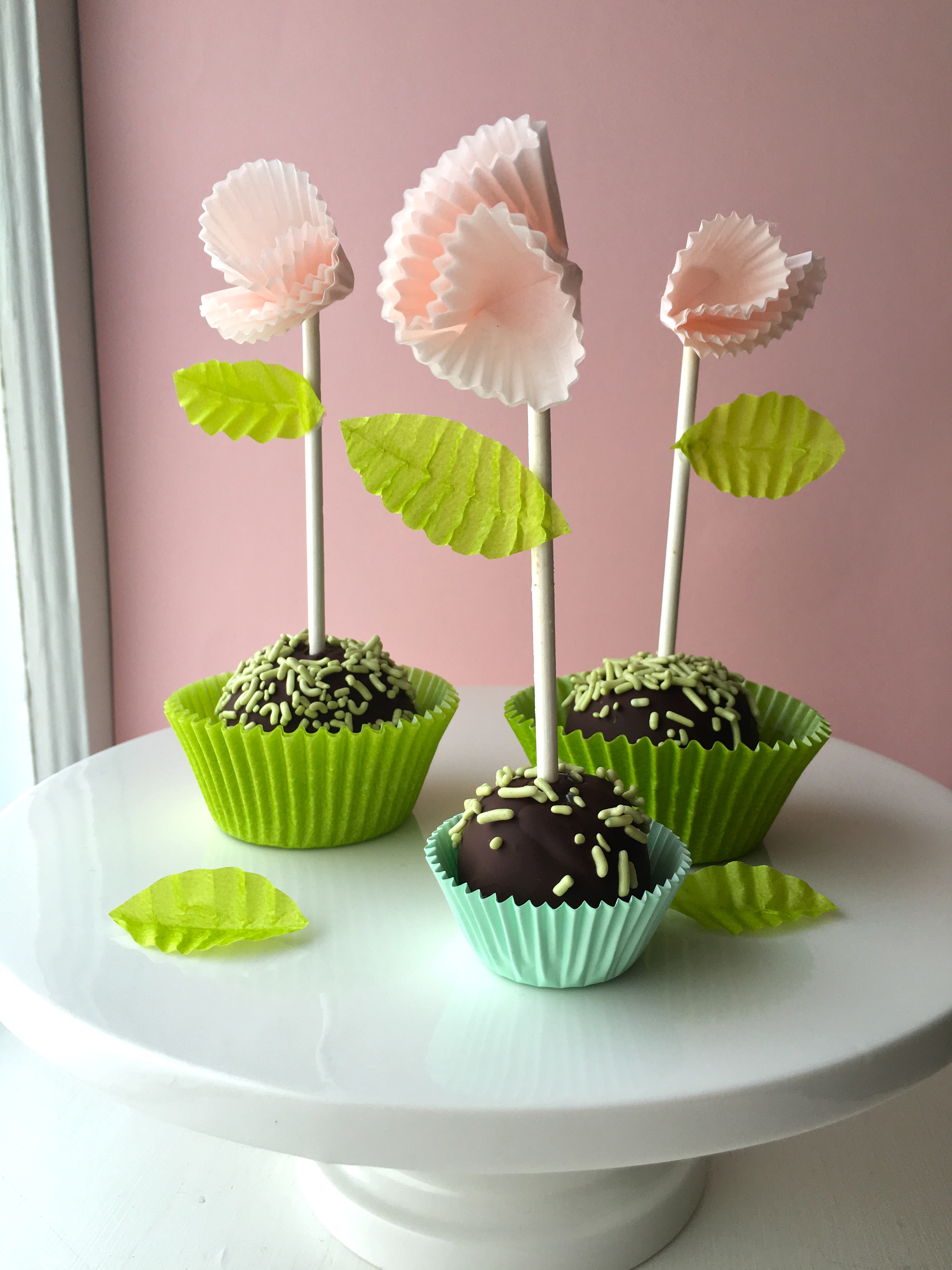 Easy Cake Pop Flowers For Mother S Day Super Make It