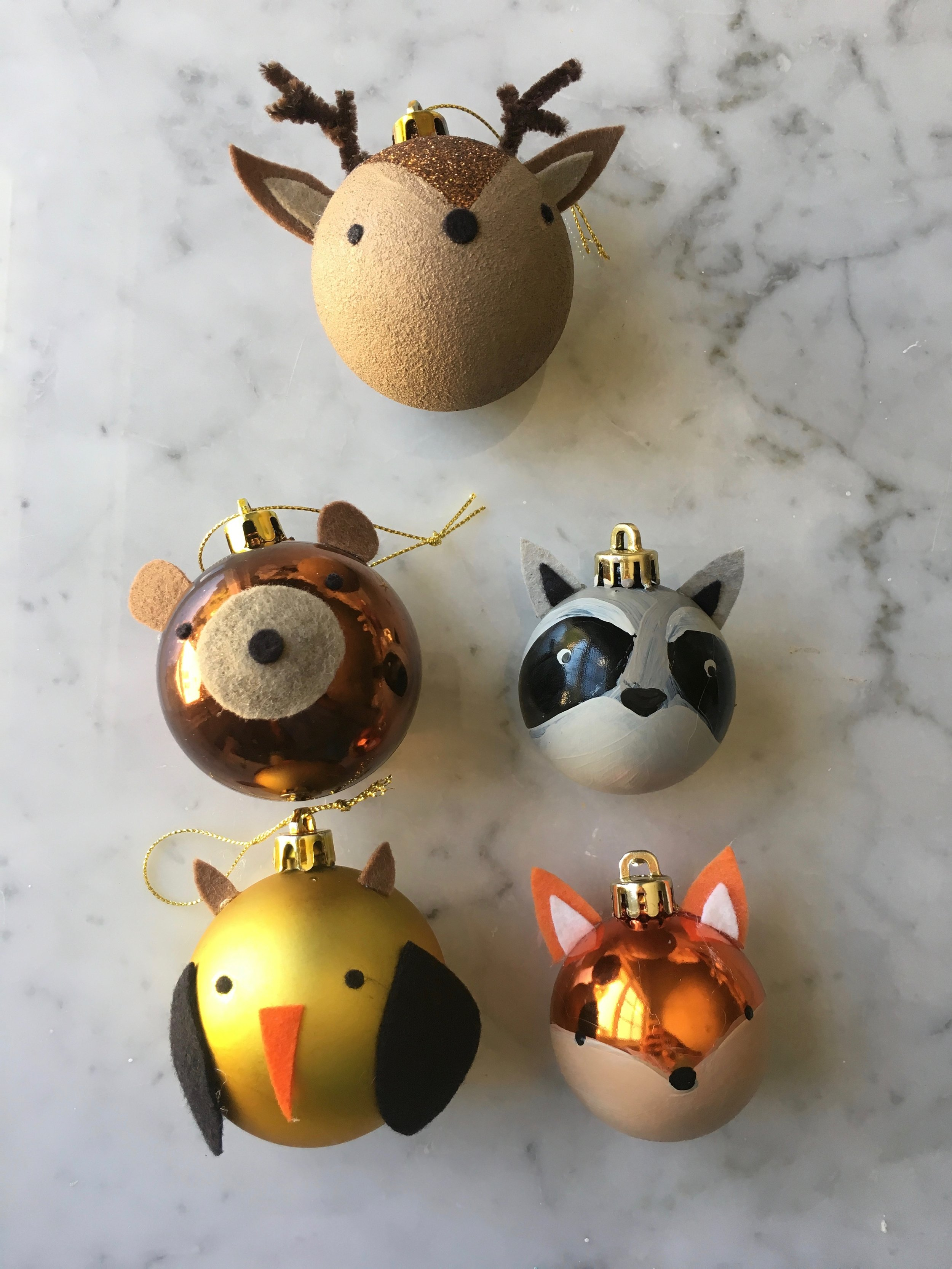 Woodland-Animal-Ornaments