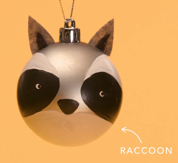 Raccoon-Ornament
