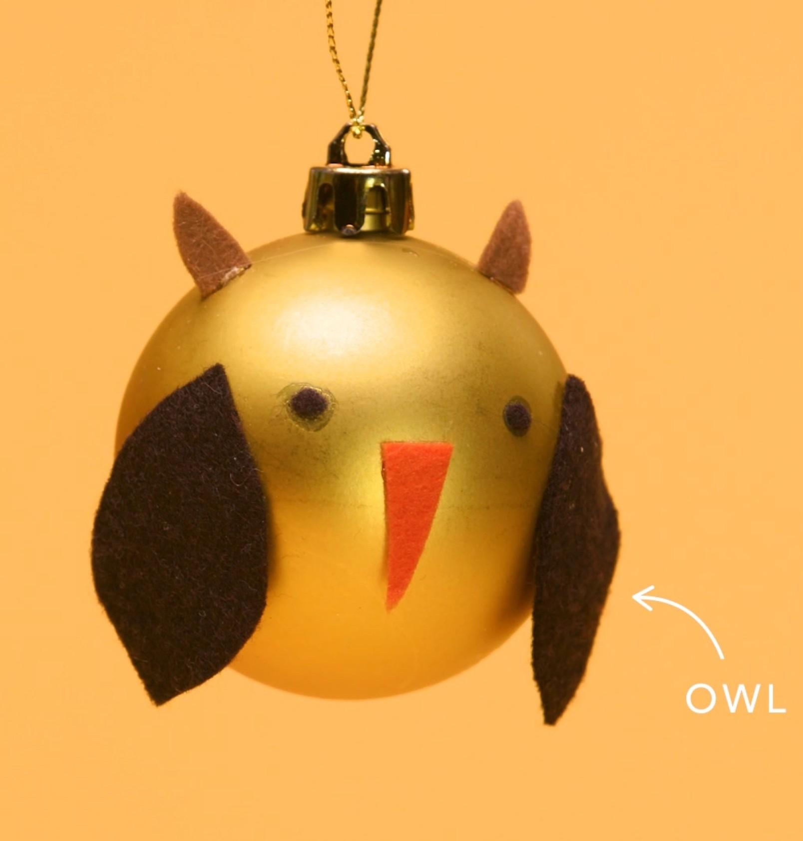 Owl-Ornament