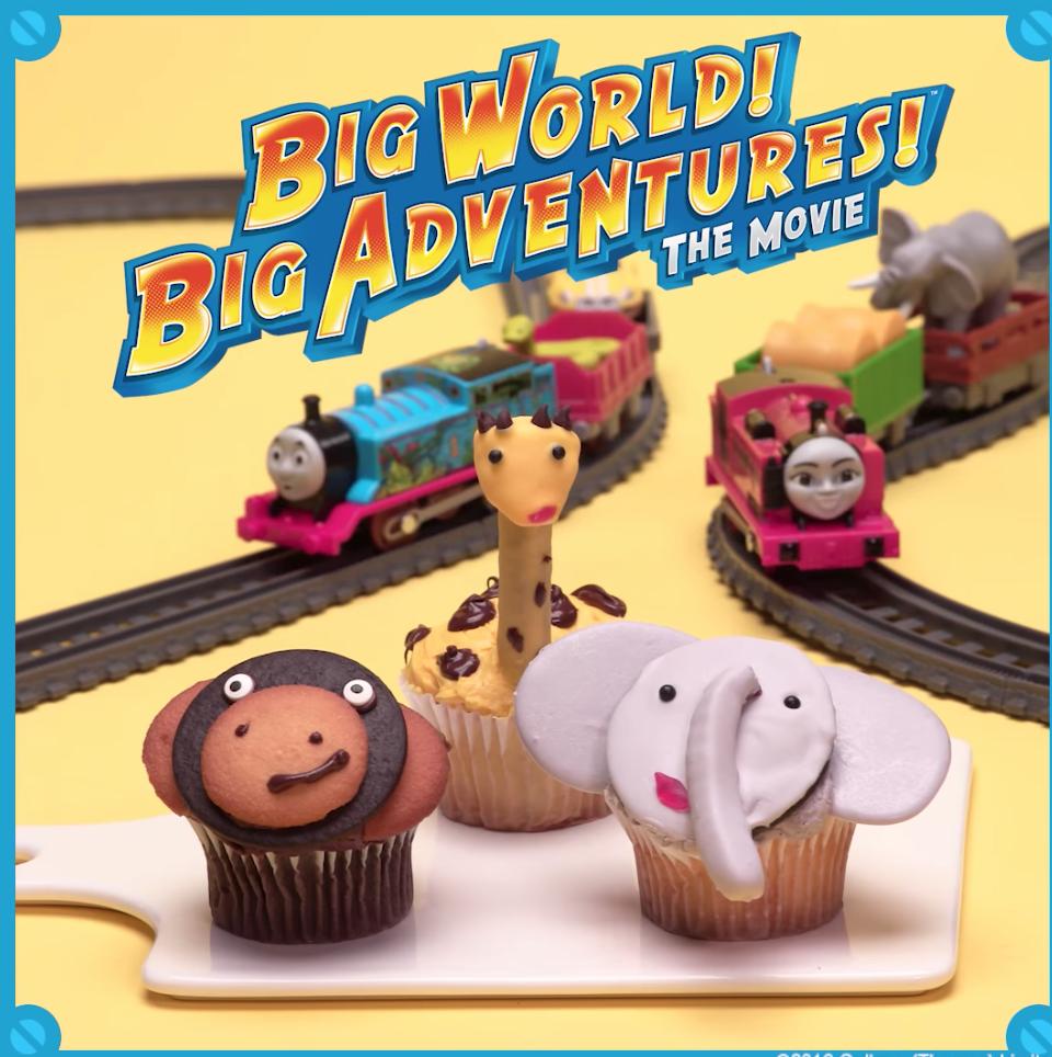 Thomas Big World Cupcake Video