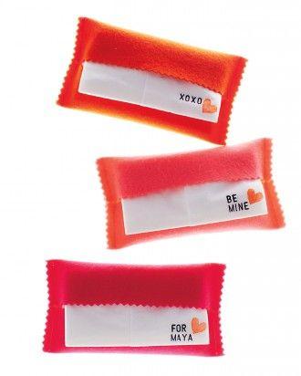 Tissue Packet Valentines